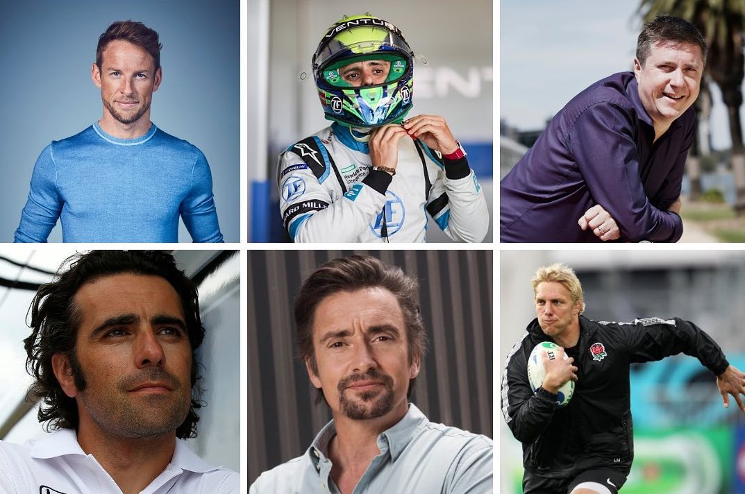 Chat with F1 stars in the Hope Classic Rally charity auction