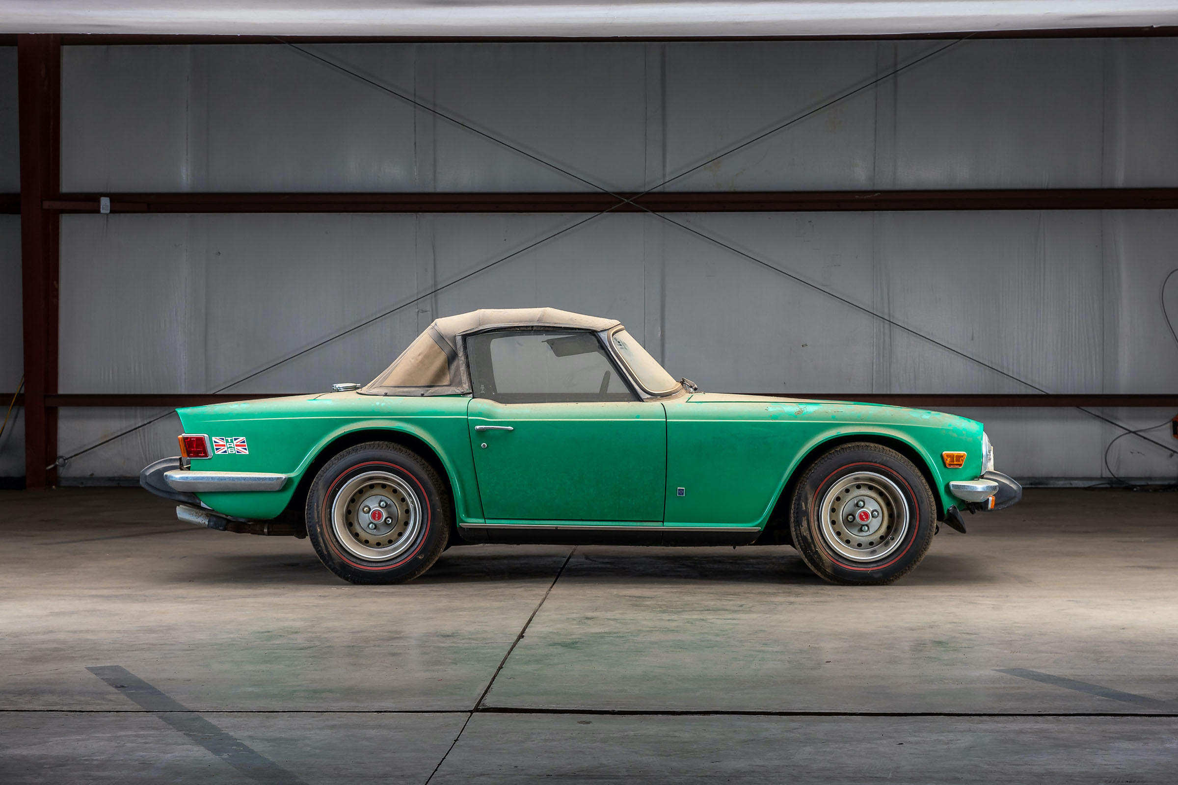 7 barn finds going to auction this week, from Triumph TR6 to Porsche 356