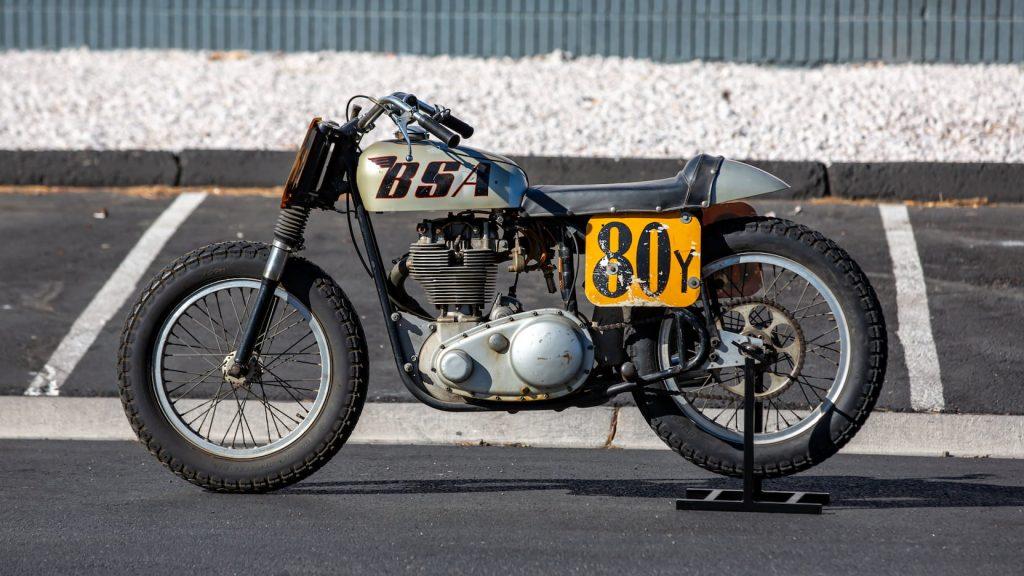 1966 BSA Gold Star dirt tracker