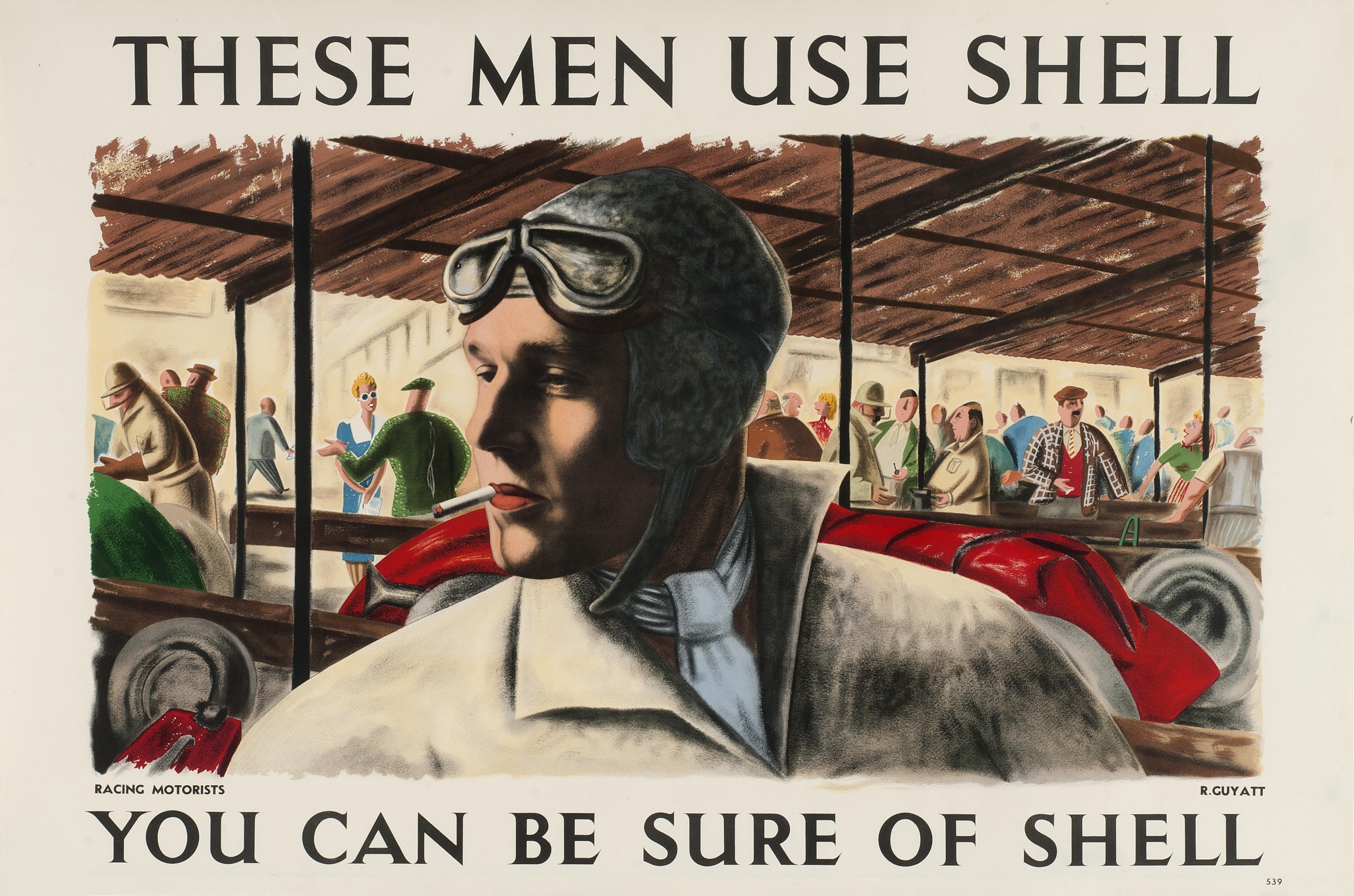 Shell Lorry Bill artwork by Richard Guyatt 1939