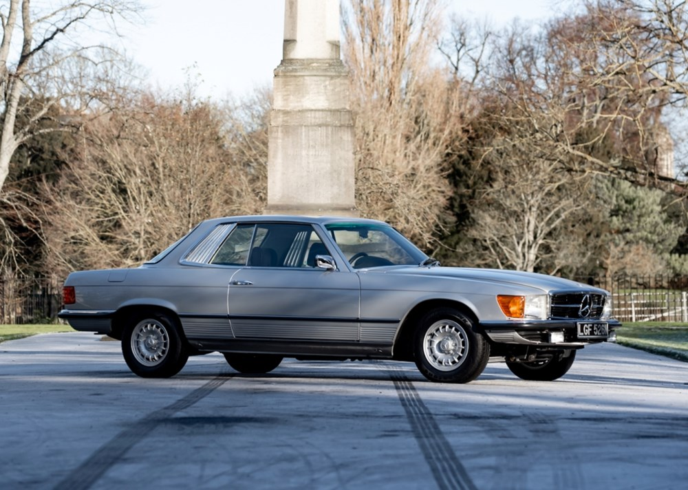 Mercedes 450 SLC for auction formerly owned by Peter Sellers