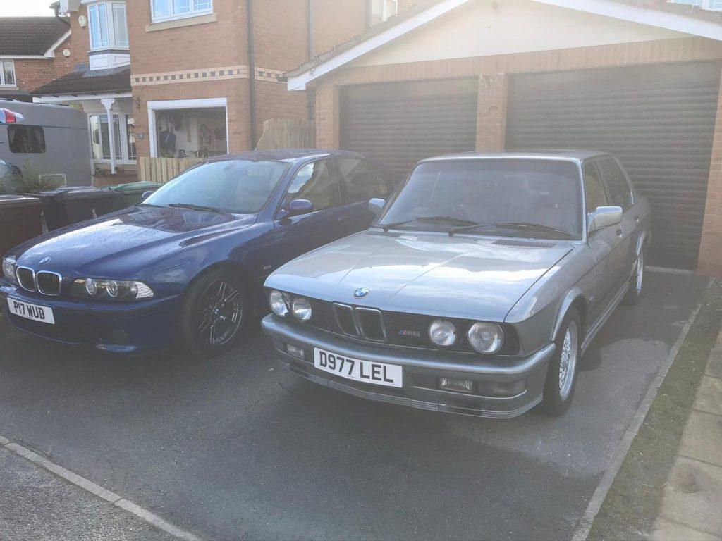 BMW M5 E28 and M5 E39