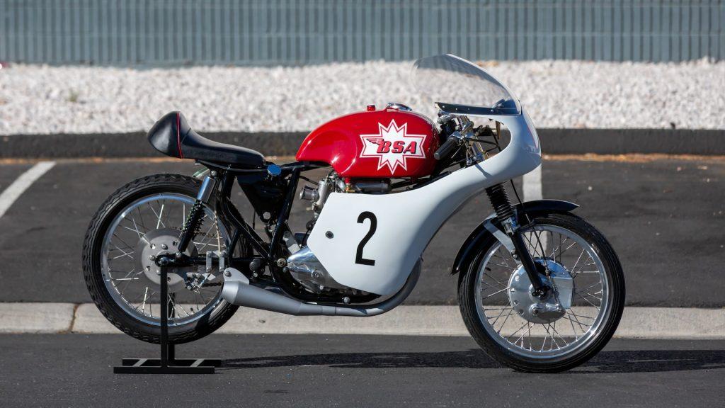 1966 BSA A5 road racer