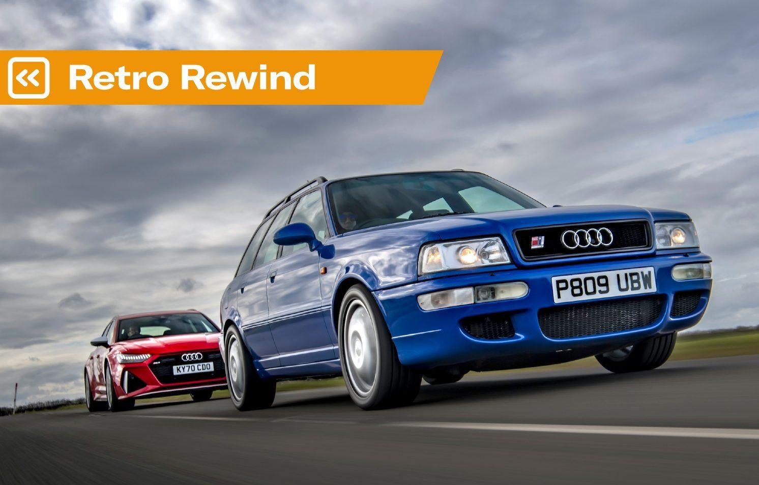 Retro Rewind: Audi RS2 vs Audi RS6