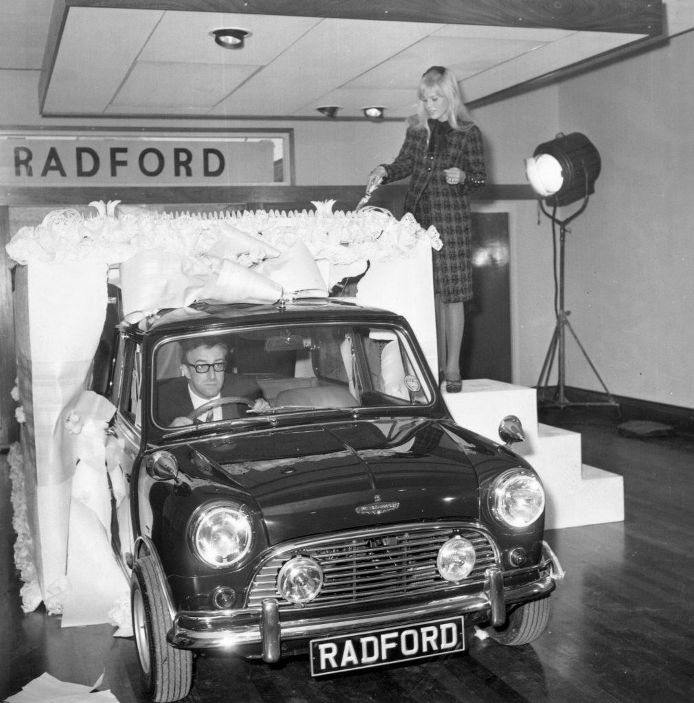 Britt Ekland's Radford Mini