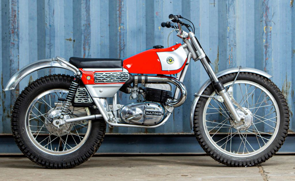 Bultaco Sherpa is a sought-after classic trials bike_Hagerty
