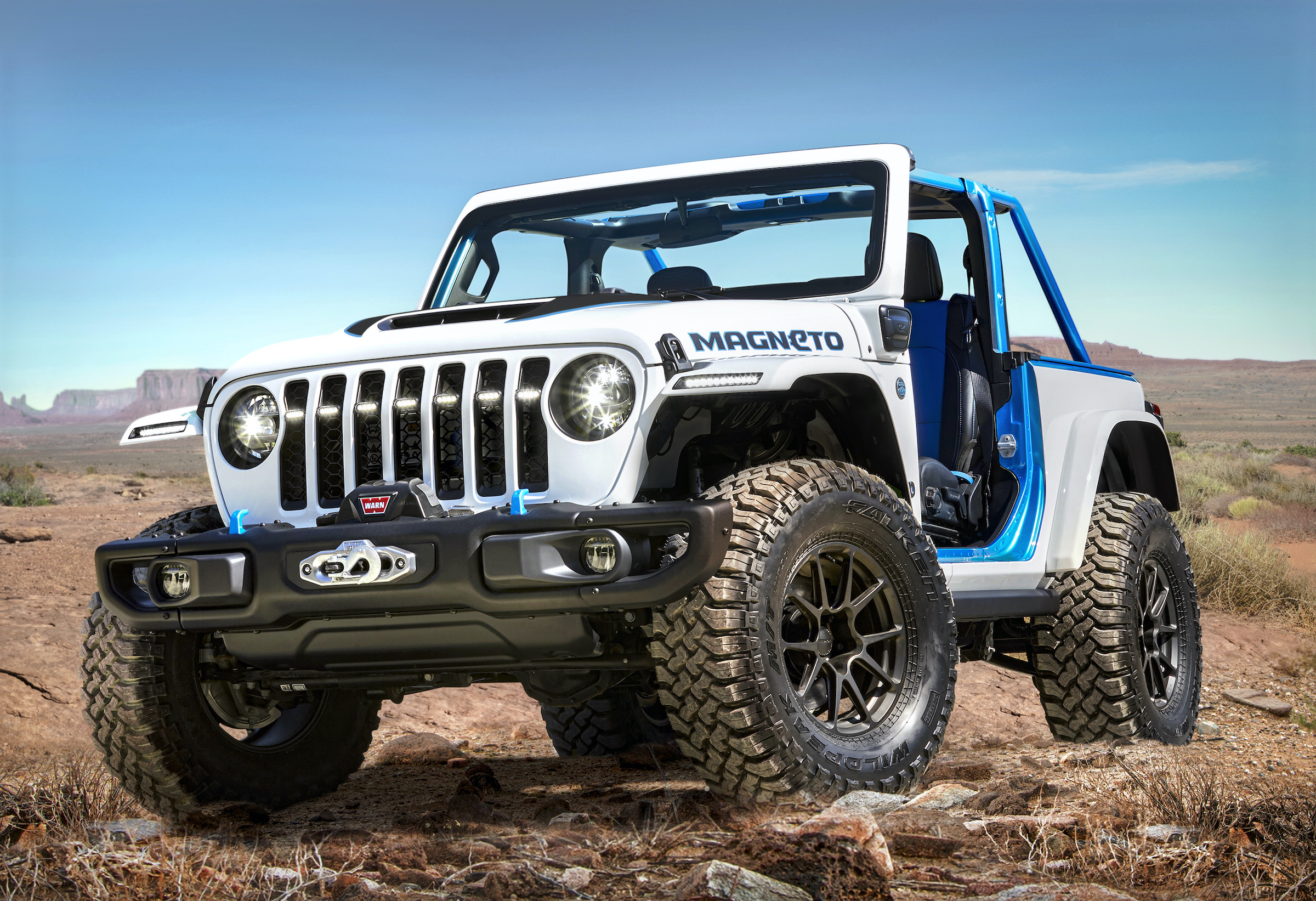Jeep Magneto: The off-road EV with a manual gearbox