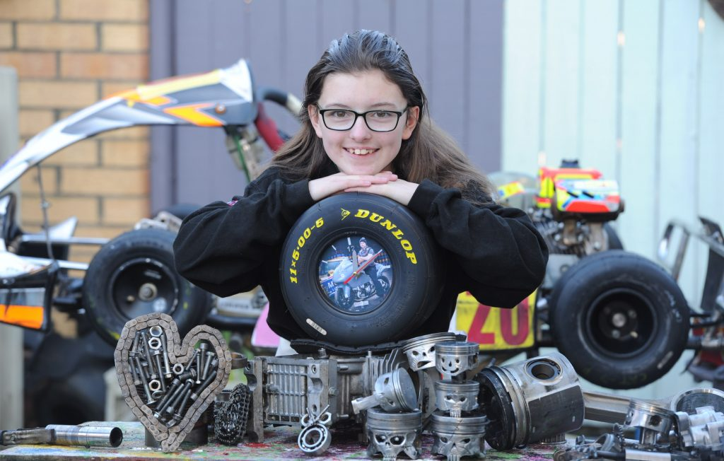 Interview with Catherine Potter karting sensation