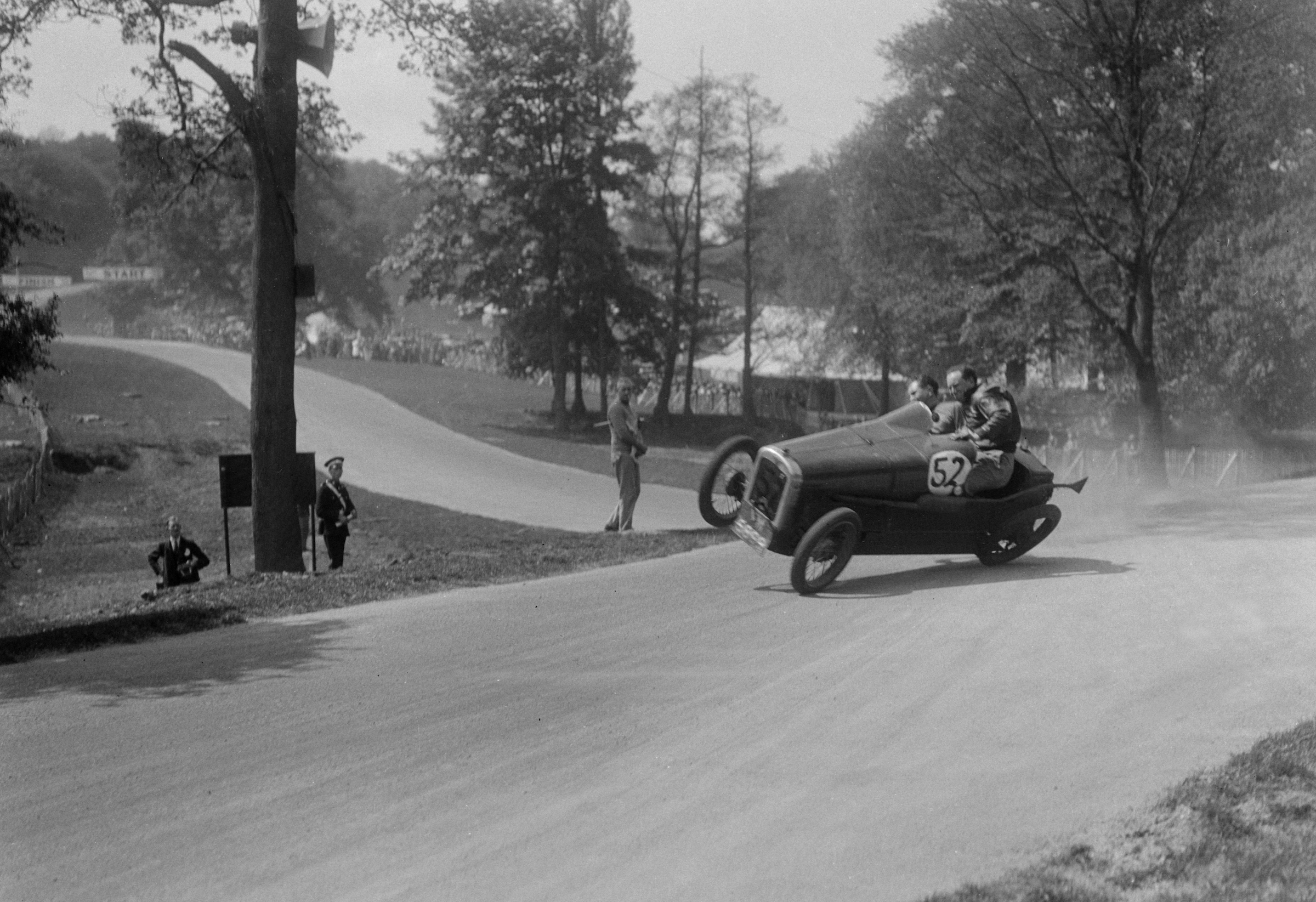 Freeze Frame: 25 March 1933 – First road race at Donington Park