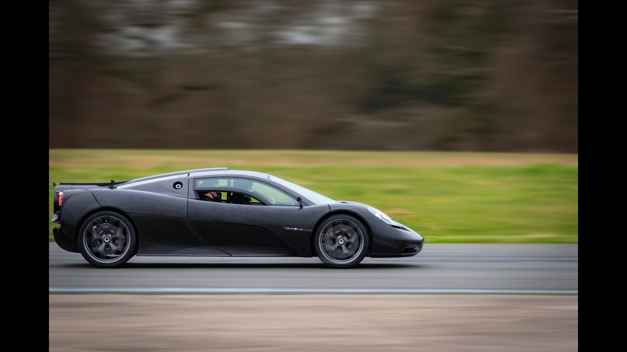 Watch Gordon Murray's first drive of the T.50 supercar