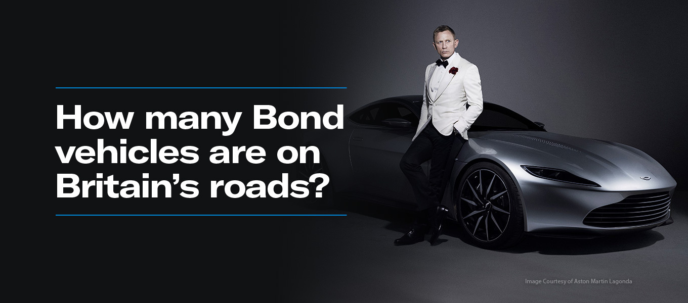 How Many Bond Cars are on Britain's Roads?