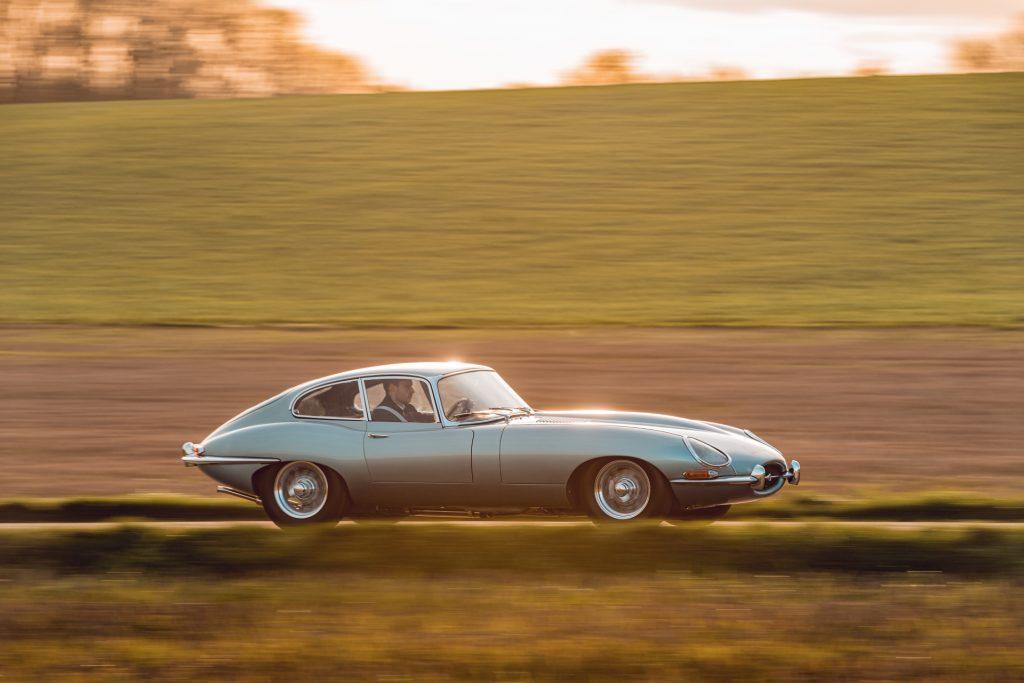 Driving an E-Type reborn Jaguar Classic