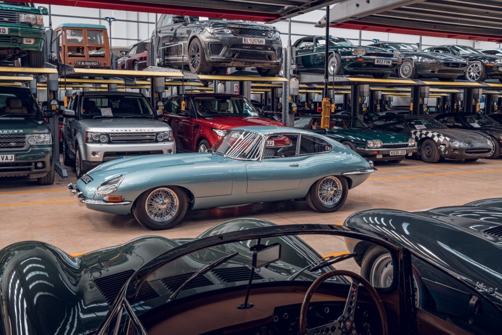 Jaguar E-Type Series 1 restored by Jaguar Classic