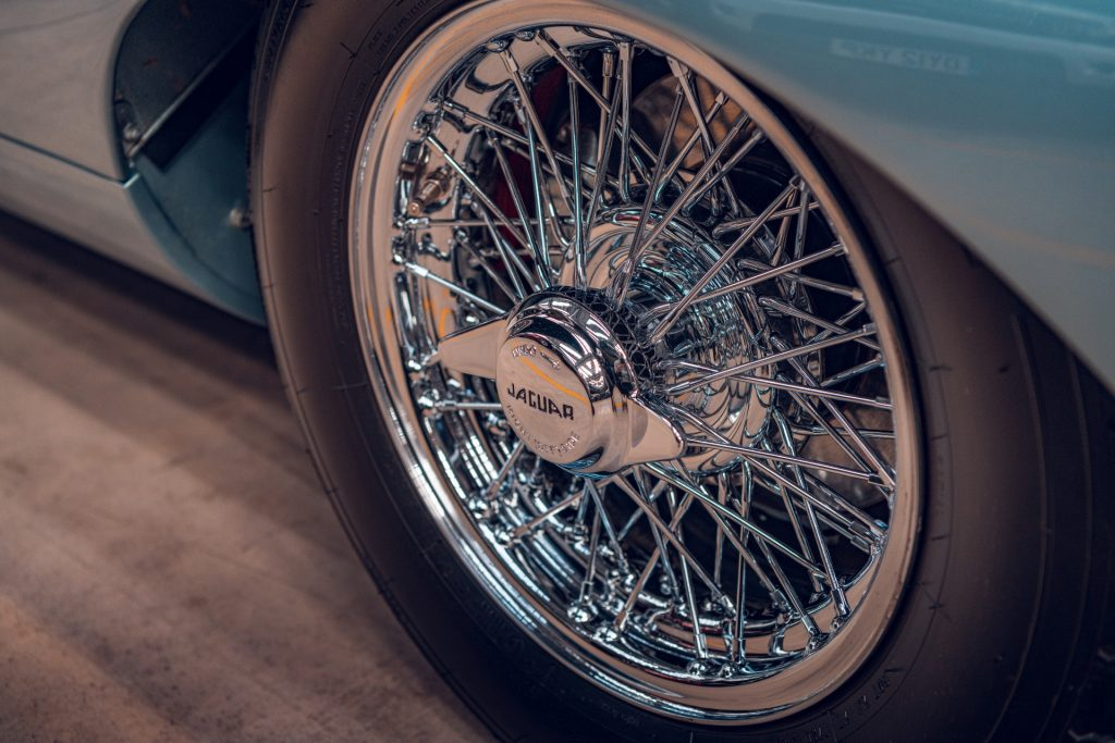Jaguar E-Type Series 1 wire wheels