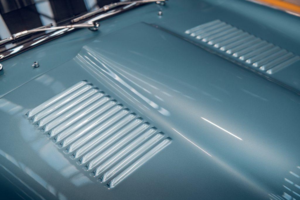 Jaguar E-Type Series 1 bonnet louvres