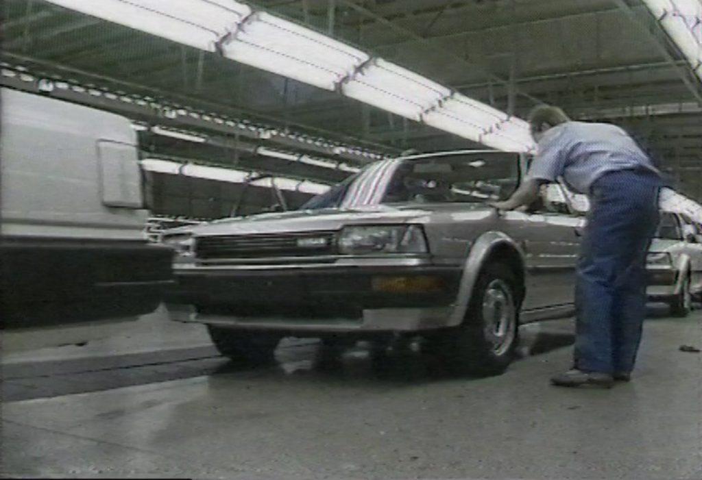 Nissan Bluebird production in Sunderland