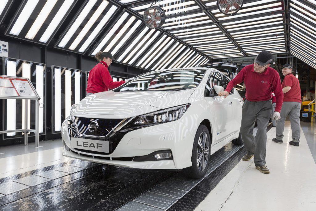 Nissan Leaf production in Sunderland