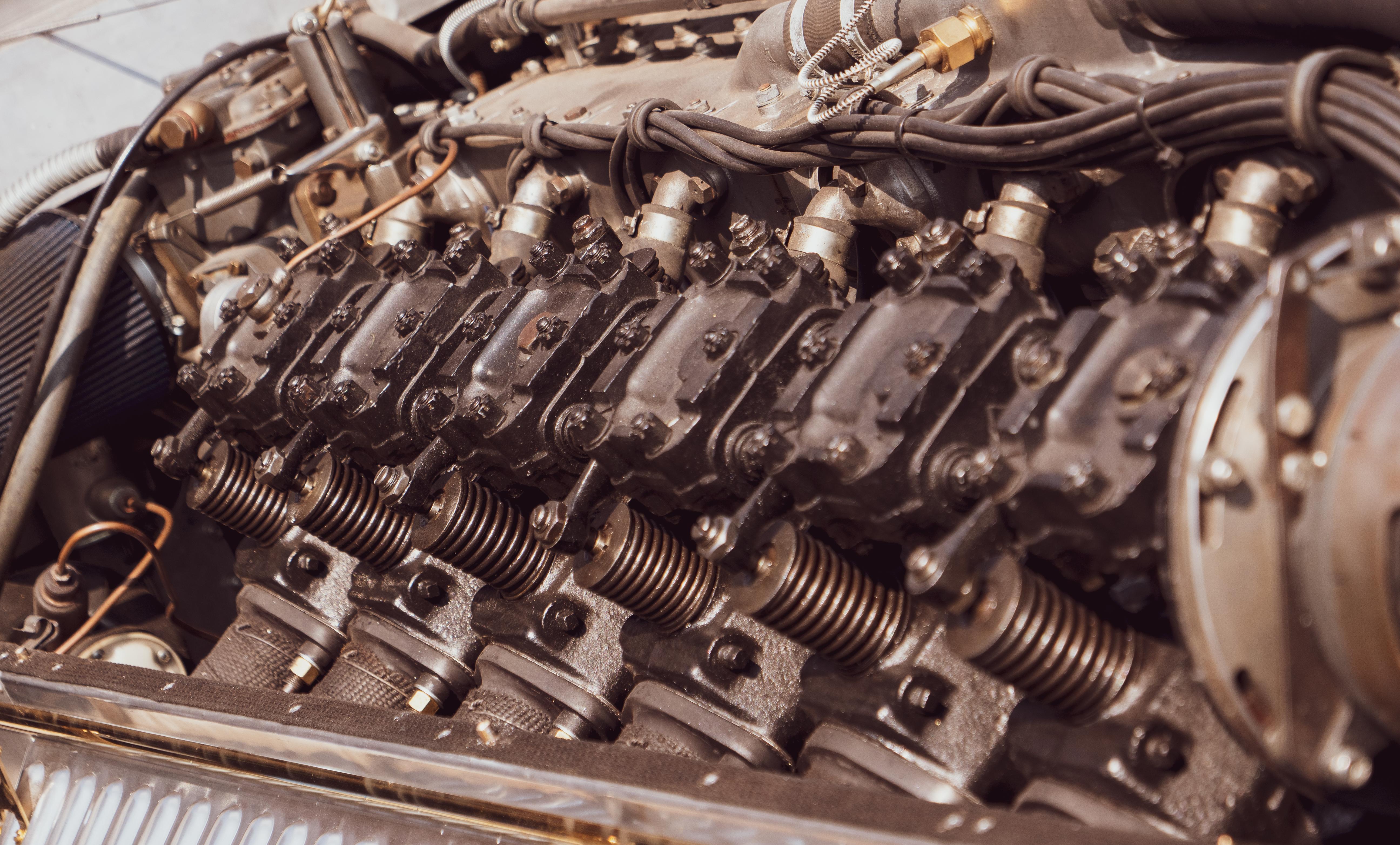 Minerva Libert Special 27 litre V12 engine
