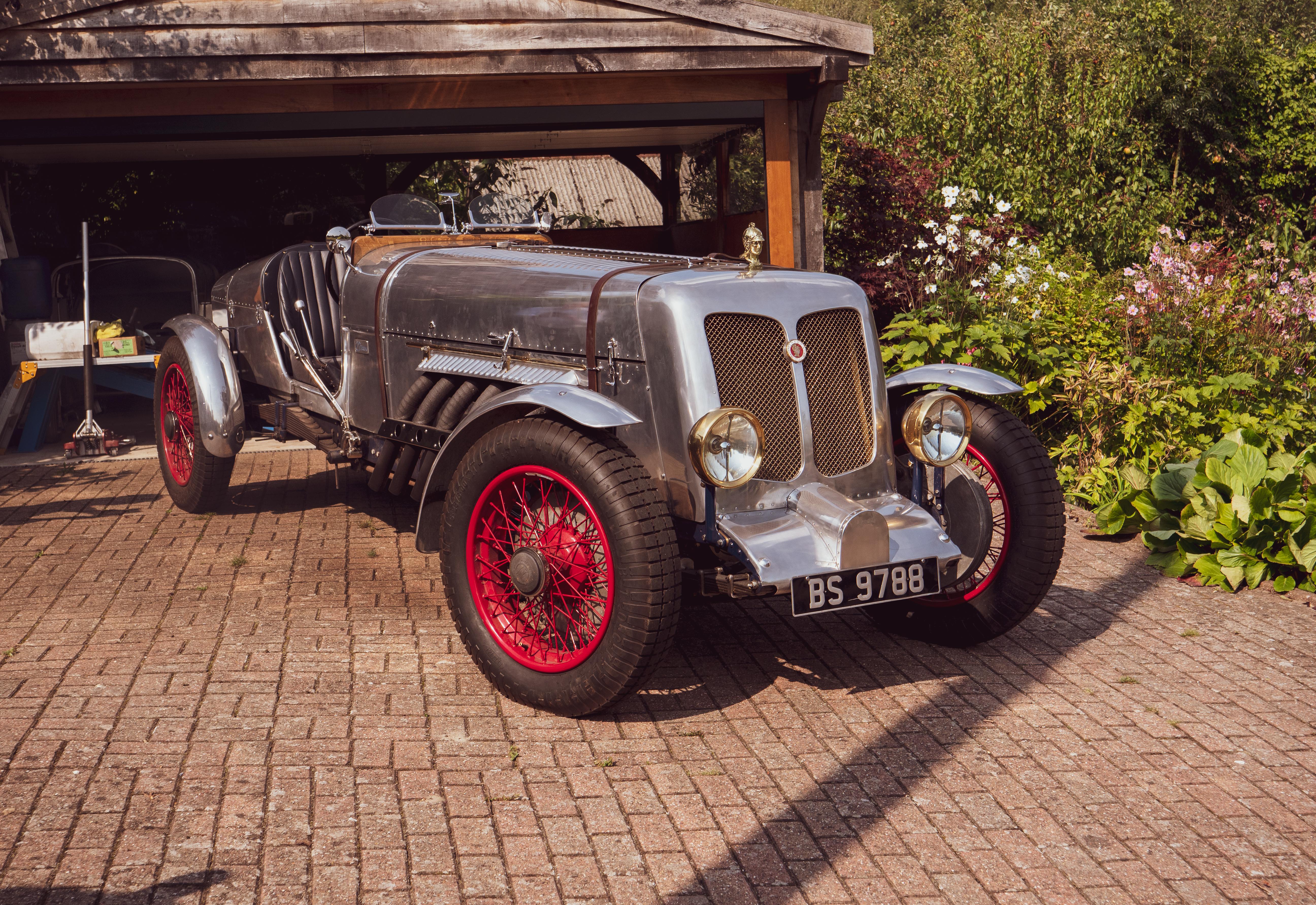 Your classics: Ed Marriott and his 27-litre Minerva Liberty Special