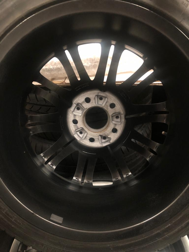 BMW M3 E46 18 inch alloy satin wheels