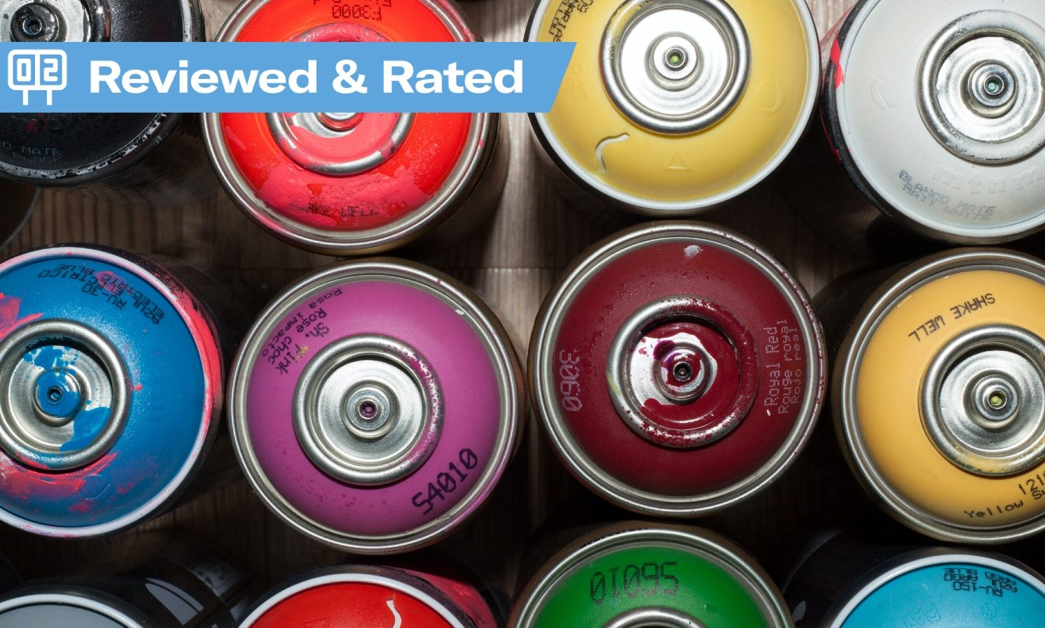 Reviewed & Rated: Aerosol paint cans for cars