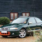 Branded Retro Mobility: Rover 200 BRM