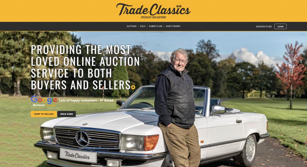 Online auction site Trade Classics