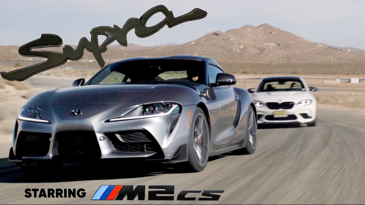 2021 Toyota Supra meets the BMW M2 CS: the Mk4's real successor | Jason Cammisa on the Icons