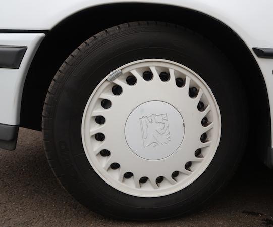 Vauxhall hot hatch wheel