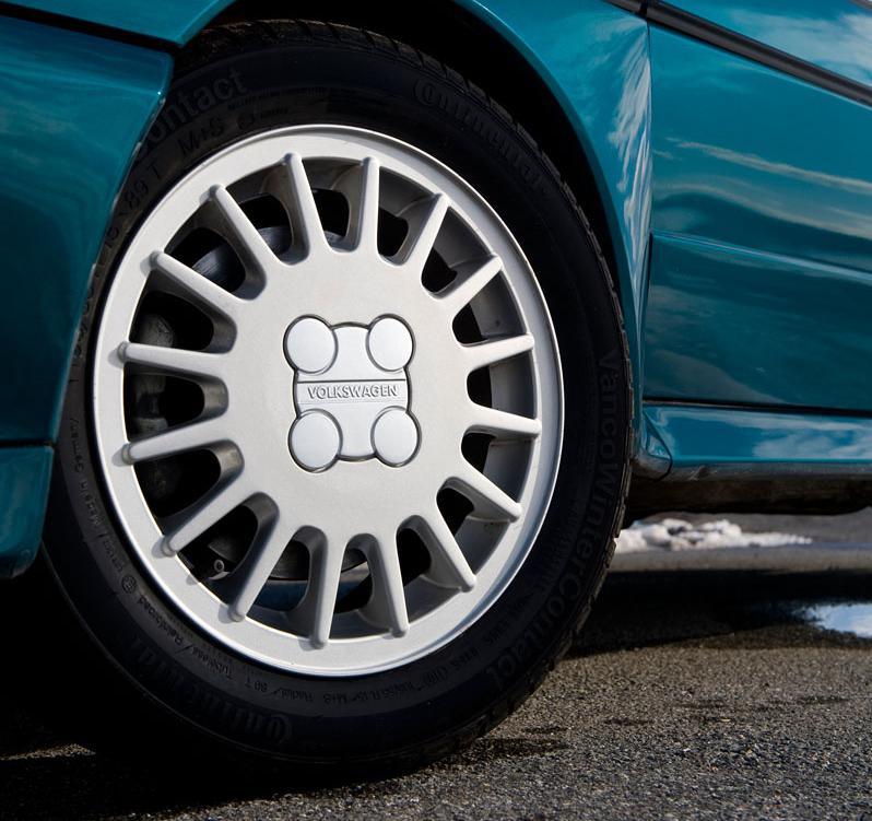 Volkswagen Golf MkII wheel