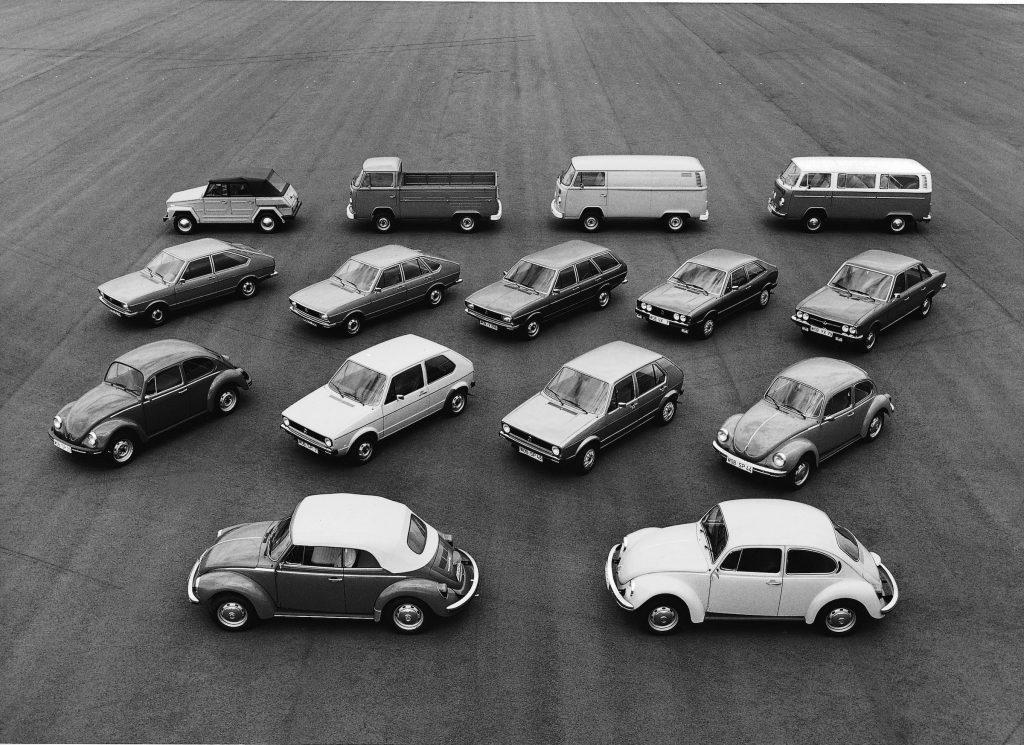 1974 Volkswagen range