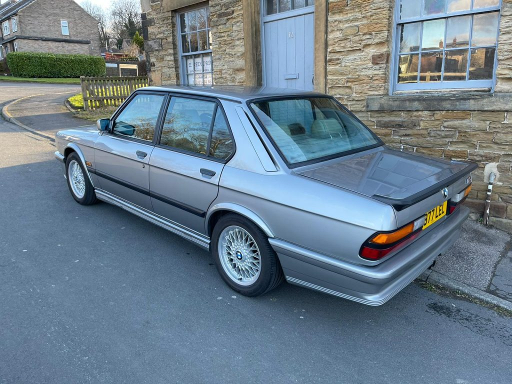 BMW M5 E28 has done 311,000 miles