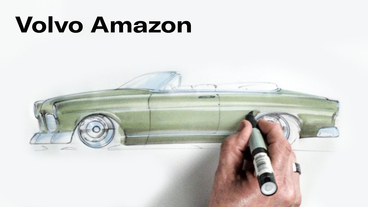 Chip Foose Draws a Car: Volvo Amazon