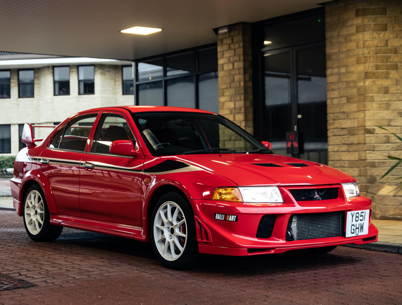 2001 Mitsubishi Lancer Evo VI Tommi Makinen