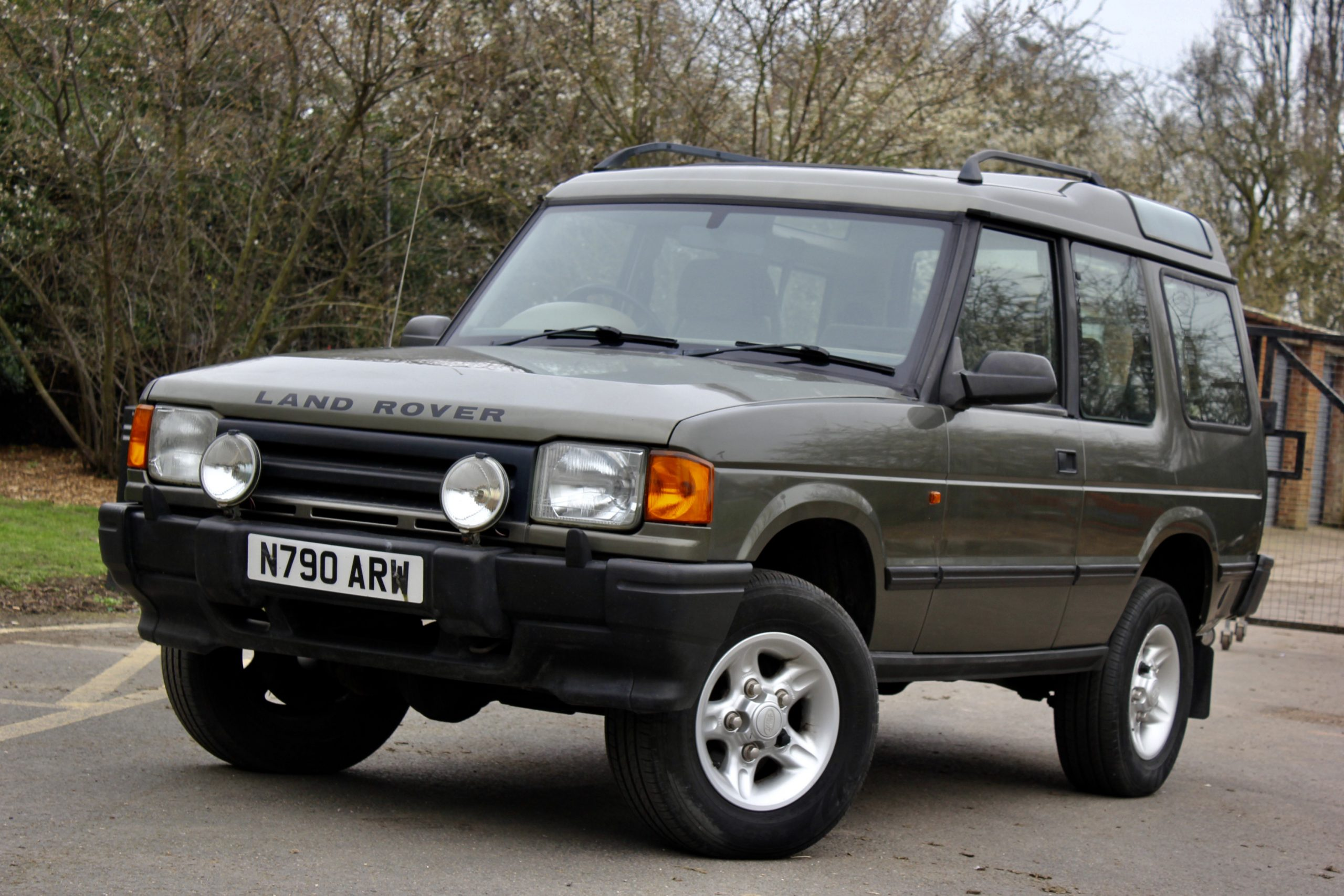 Invest in British beef with this Land Rover Discovery V8