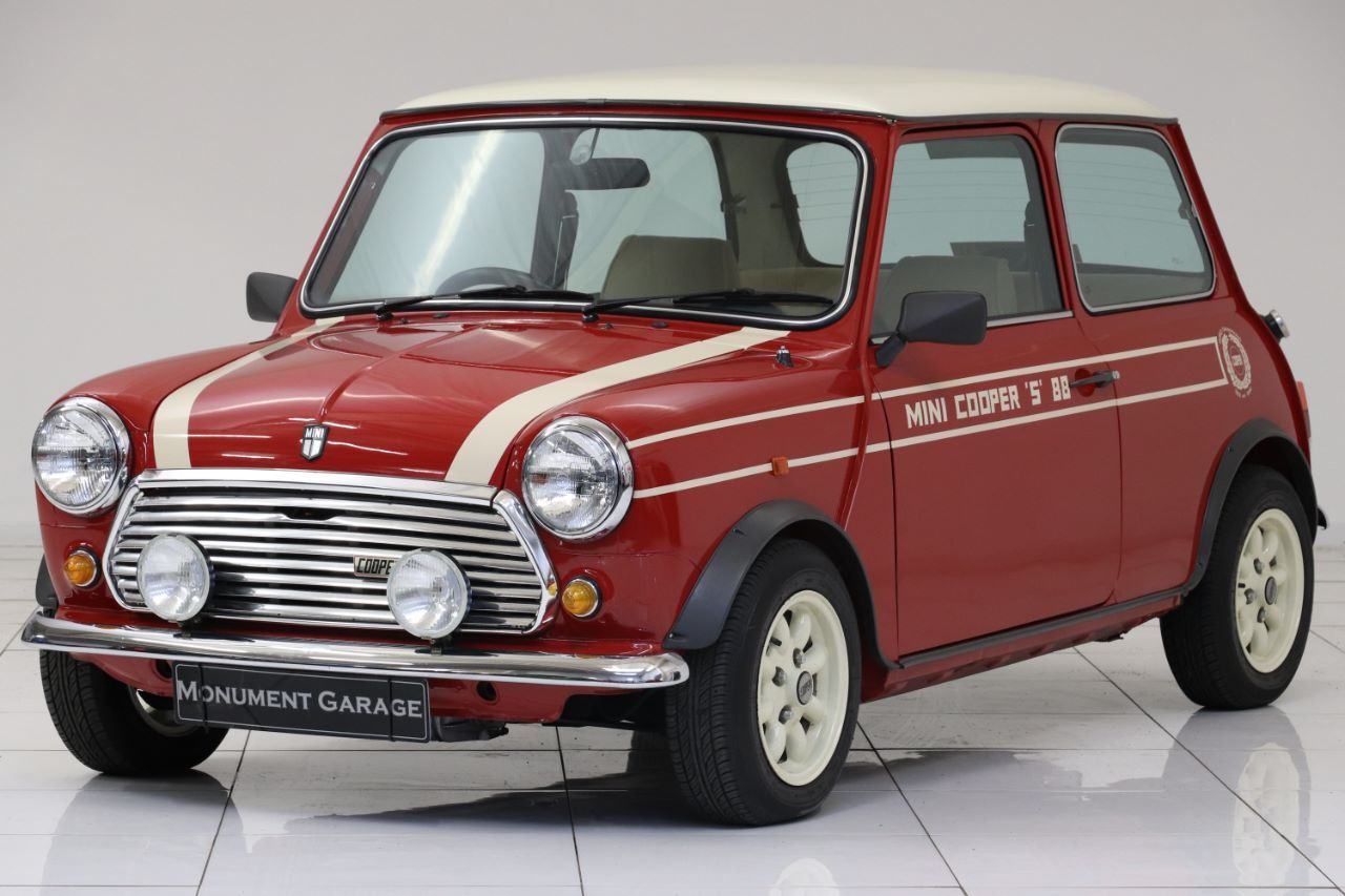 Mini Cooper prototype brought back a famous name