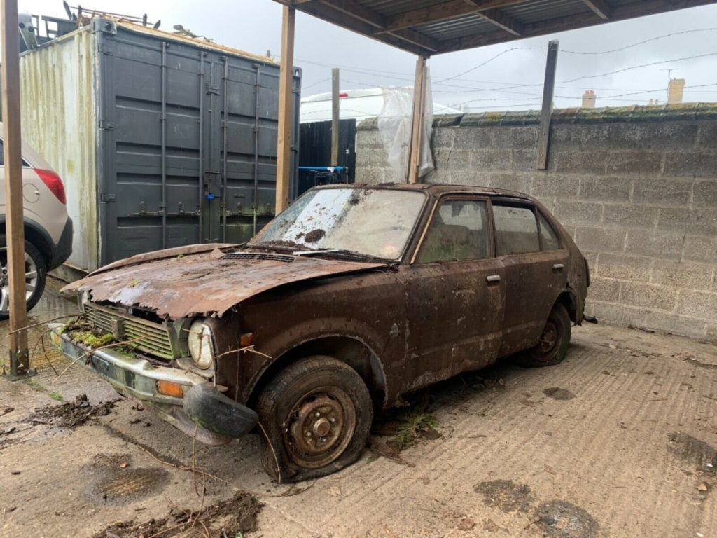 1978 Honda Civic barn find