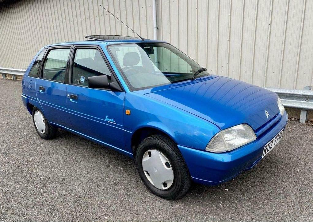 Unexceptional Classifieds: Citroën AX Spree