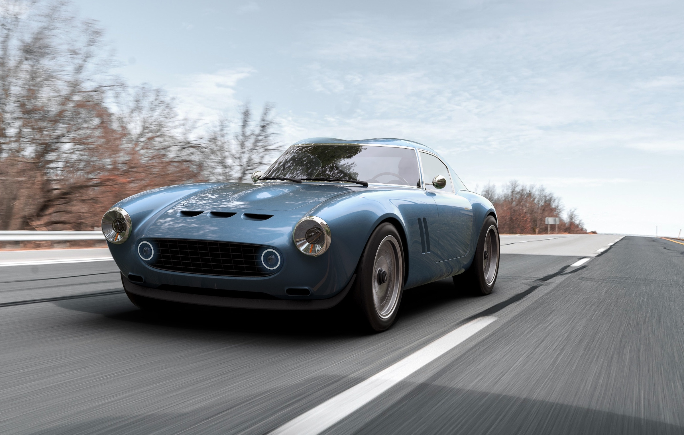 Shark attack: GTO Engineering's new V12 is called the Squalo