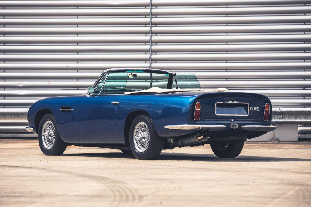 1967 Aston Martin DB6 Volante auction sale