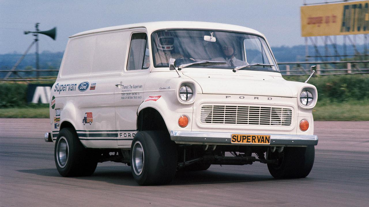 50 years later, Ford's Transit Supervan is still outrageous