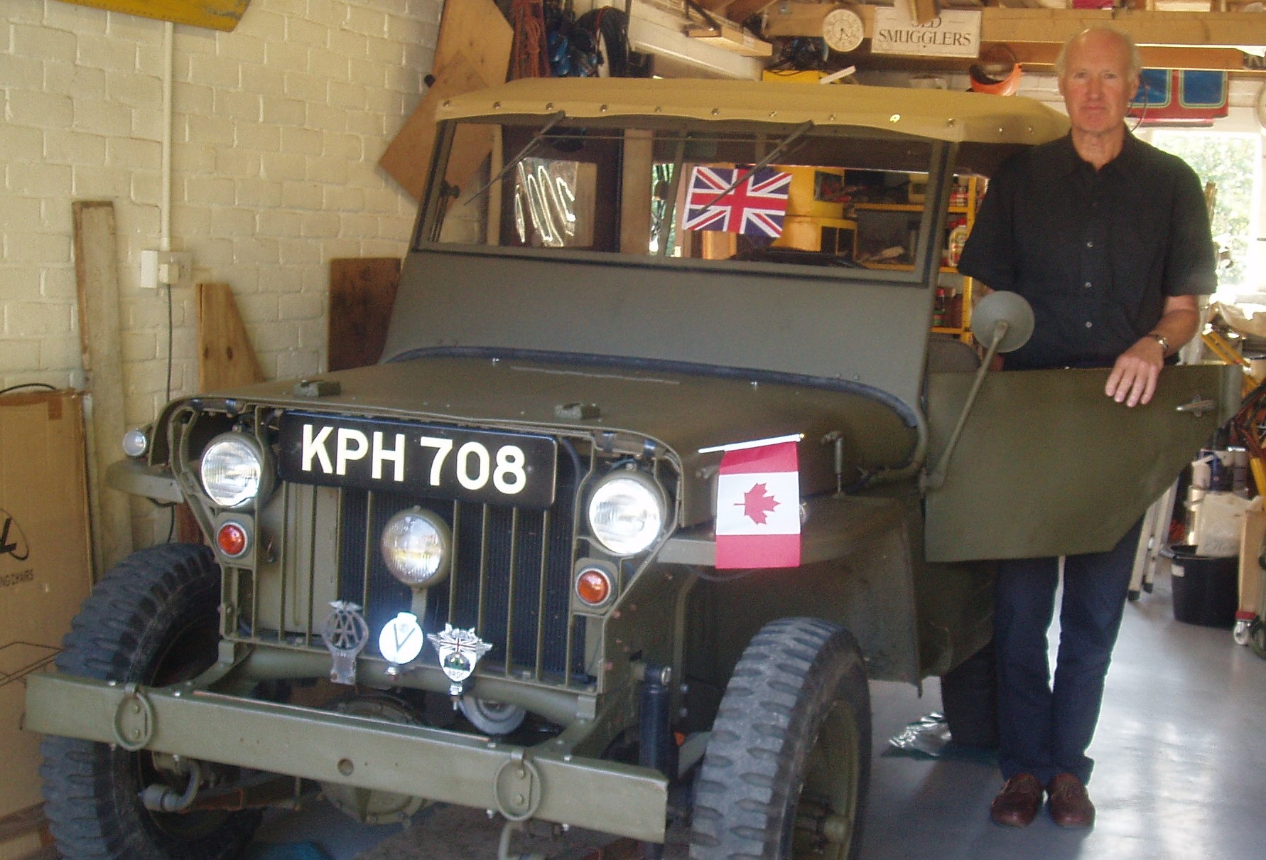 Your Classics: Patrick Sumner's 1942 Jeep is a veteran of WWII and family life