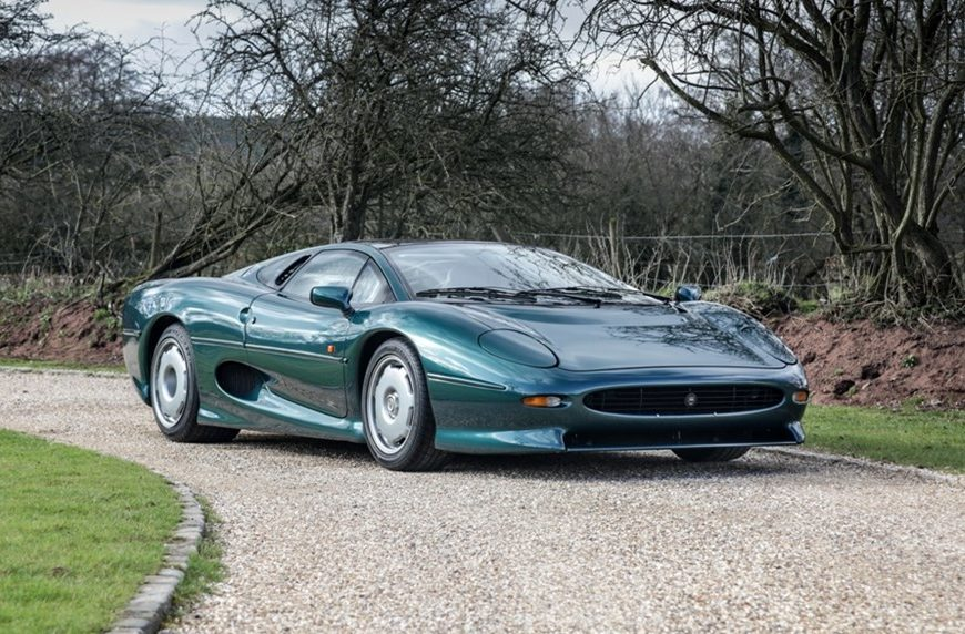 Big cat rescue: Recommissioned Jaguar XJ220 up for auction
