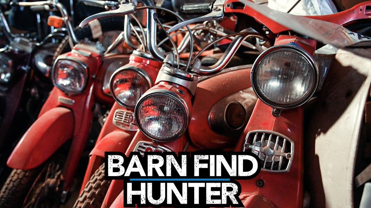 Barn Find Hunter: Uncovering thousands of British motorcycle masterpieces