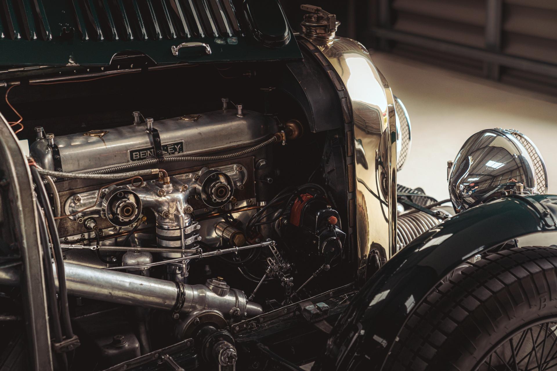 Bentley continuation car engine