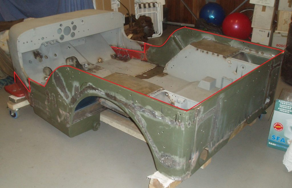 Restoration of a 1942 Willys MB Jeep