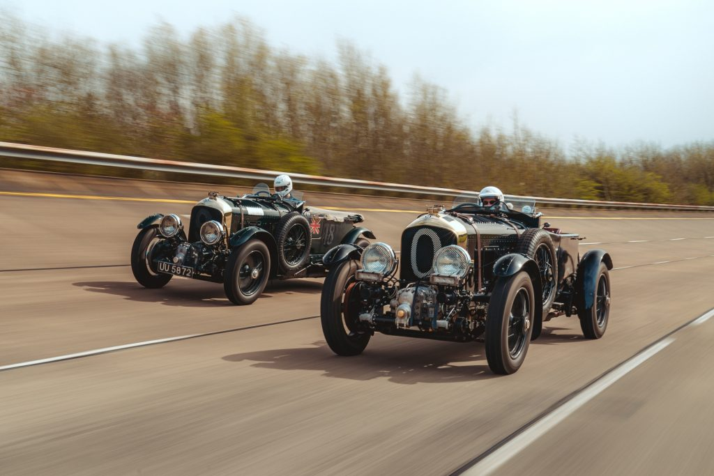 Driving the original Bentley Blower and the 2021 Continuation Series car