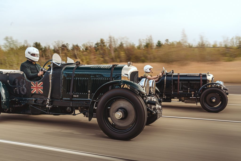 Hagerty_Driving the original Bentley Blower and the 2021 Continuation Series car