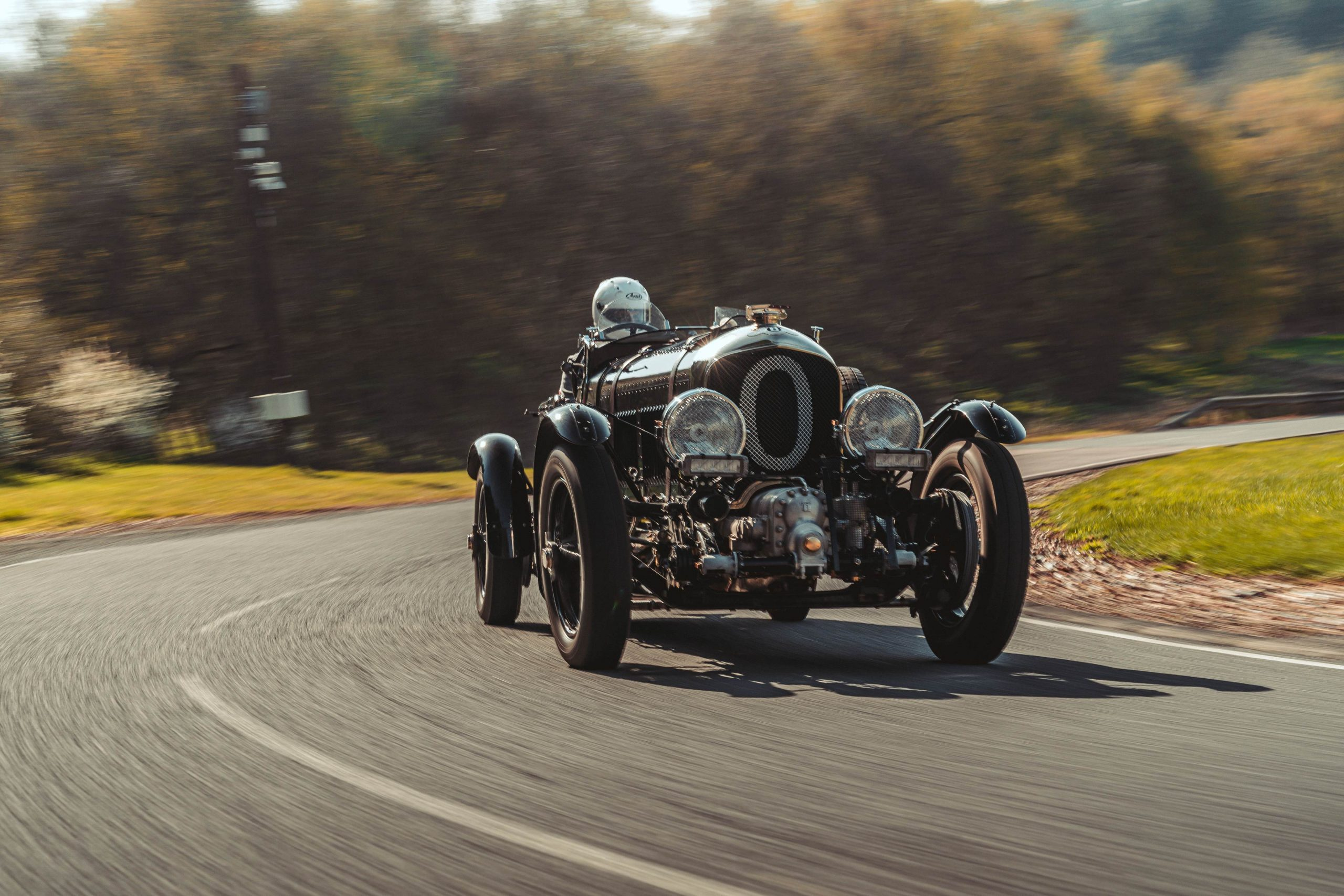 Hard charging in Bentley's new Blower continuation car