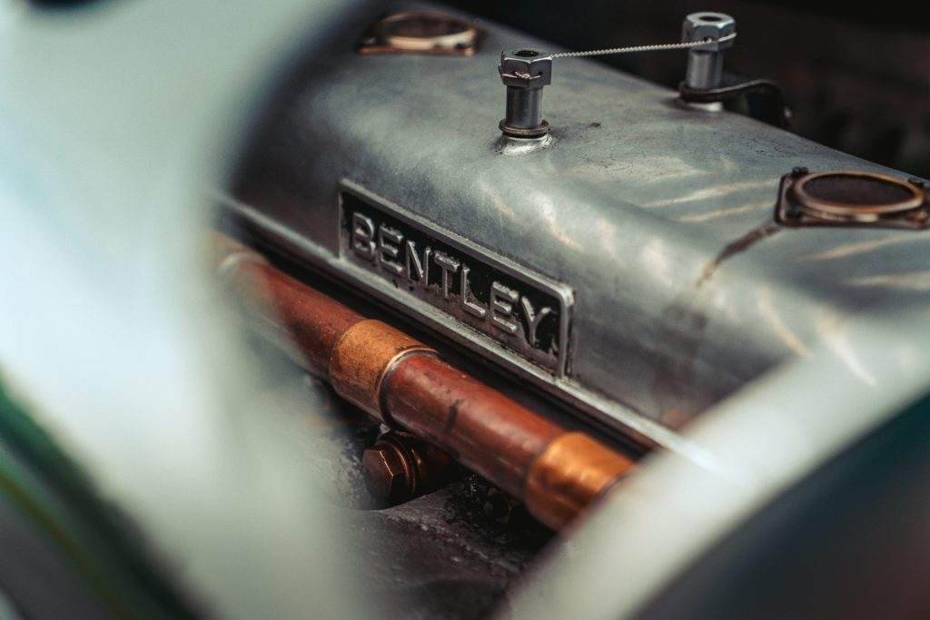 4.5-litre supercharged engine of the Bentley Blower Continuation Series car